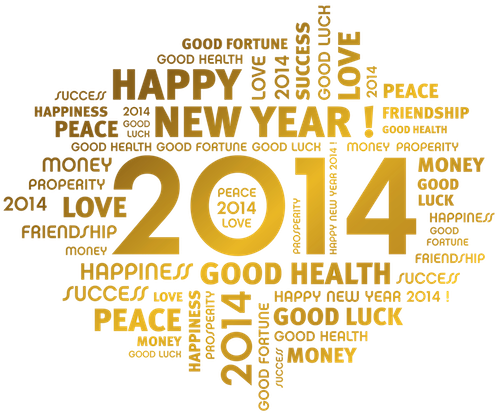 Happy new year 2014 greetings inspired workforce performers skills m4hsunfo
