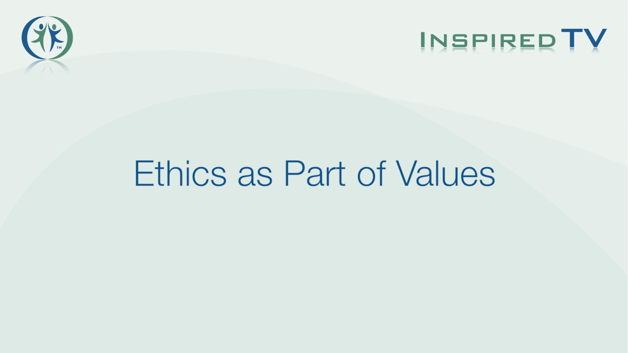 Ethics as Part of Values