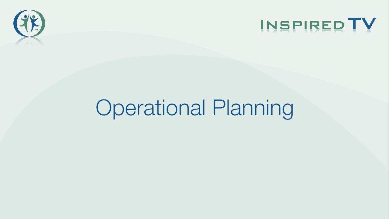Operational Planning